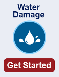 water damage cleanup in Hollywood TN